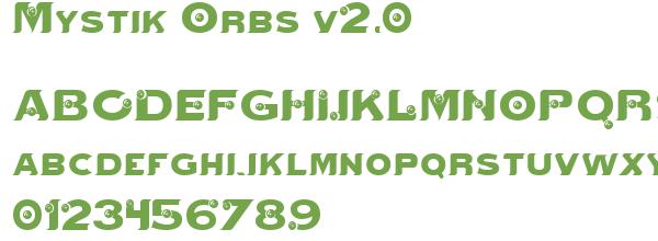 Télécharger la police d'écriture Mystik Orbs v2.0
