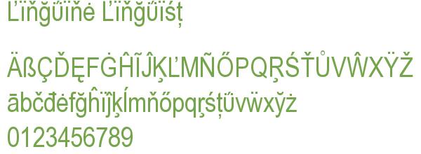 Télécharger la police d'écriture Linguine Linguist