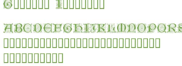 Télécharger la police d'écriture Genzsch Initials