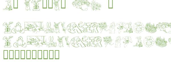 Télécharger la police d'écriture KR Easter No 2