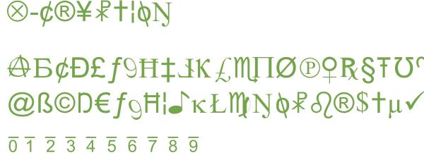 Télécharger la police d'écriture X-Cryption