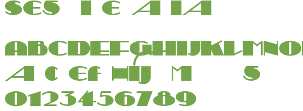 Télécharger la police d'écriture Sesquipedalian