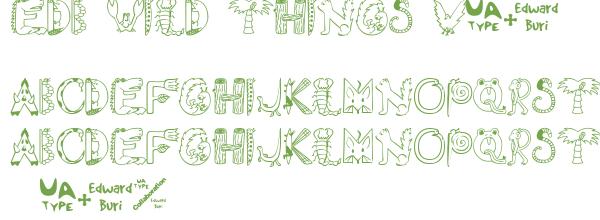 Télécharger la police d'écriture EDB Wild Things v1.0