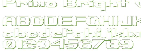 Télécharger la police d'écriture Primo Bright v1.0