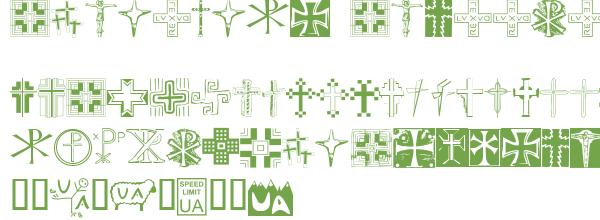 Télécharger la police d'écriture Christian Crosses II v1.0 Prev