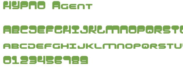 Télécharger la police d'écriture HYPNO Agent
