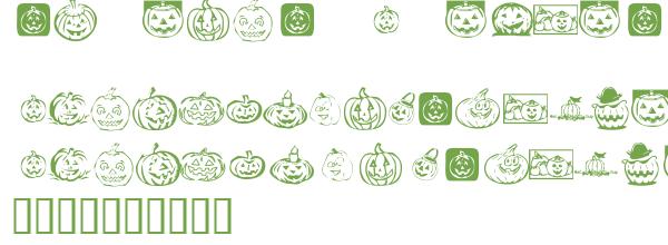 Télécharger la police d'écriture KR Pick A Pumpkin