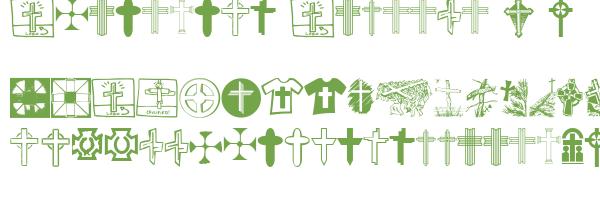 Télécharger la police d'écriture Christian Crosses V v1.0 Previ