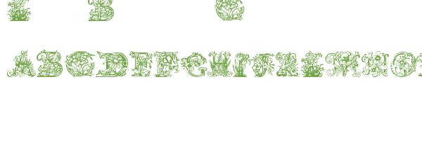 Télécharger la police d'écriture Lime Blossom Caps