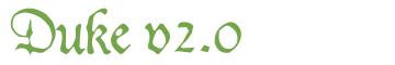 Télécharger la police d'écriture Duke v2.0