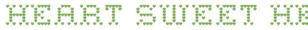 Télécharger la police d'écriture Heart Sweet Heart