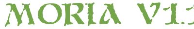 Télécharger la police d'écriture Moria v1.1