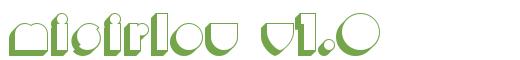 Télécharger la police d'écriture Misirlou v1.0