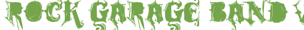 Télécharger la police d'écriture Rock Garage Band v1.0