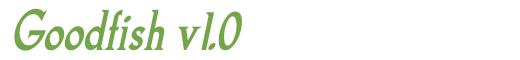 Télécharger la police d'écriture Goodfish v1.0