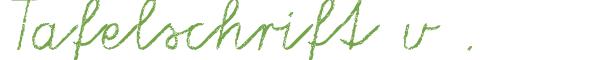 Télécharger la police d'écriture Tafelschrift v2.0