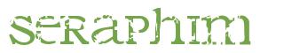 Télécharger la police d'écriture Seraphim
