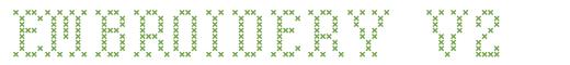Télécharger la police d'écriture Embroidery v2