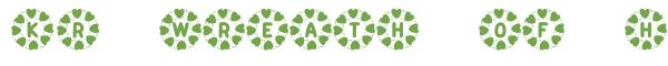 Télécharger la police d'écriture KR Wreath Of Hearts