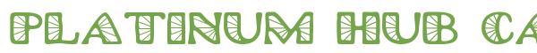 Télécharger la police d'écriture Platinum Hub Caps Spoked v1.0