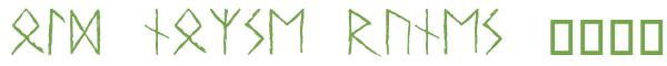 Télécharger la police d'écriture Old Norse Runes v1.0