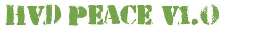 Télécharger la police d'écriture HVD Peace v1.0