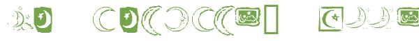 Télécharger la police d'écriture KR Crescent Moons