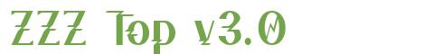 Télécharger la police d'écriture ZZZ Top v3.0