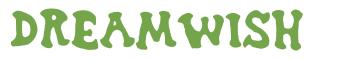 Télécharger la police d'écriture Dreamwish