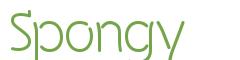Télécharger la police d'écriture Spongy