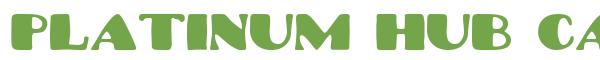 Télécharger la police d'écriture Platinum Hub Caps Solid v1.0 P