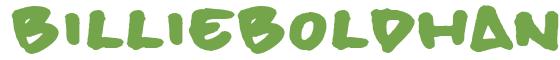 Télécharger la police d'écriture billieBoldhand