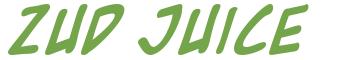 Télécharger la police d'écriture Zud Juice