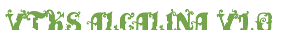 Télécharger la police d'écriture Vtks Alcalina v1.0