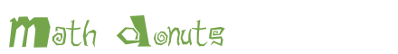Télécharger la police d'écriture Math Donuts