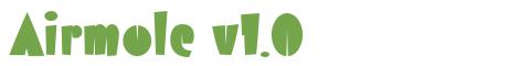 Télécharger la police d'écriture Airmole v1.0