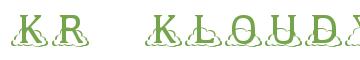 Télécharger la police d'écriture KR Kloudy