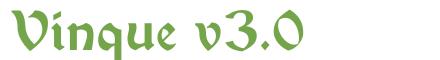 Télécharger la police d'écriture Vinque v3.0