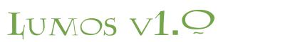 Télécharger la police d'écriture Lumos v1.0