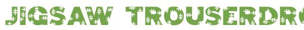 Télécharger la police d'écriture Jigsaw Trouserdrop
