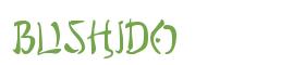 Télécharger la police d'écriture Bushido